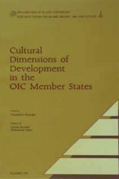 CULTURAL DIMENSIONS OF DEVELOPMENT IN THE OIC MEMBER STATES