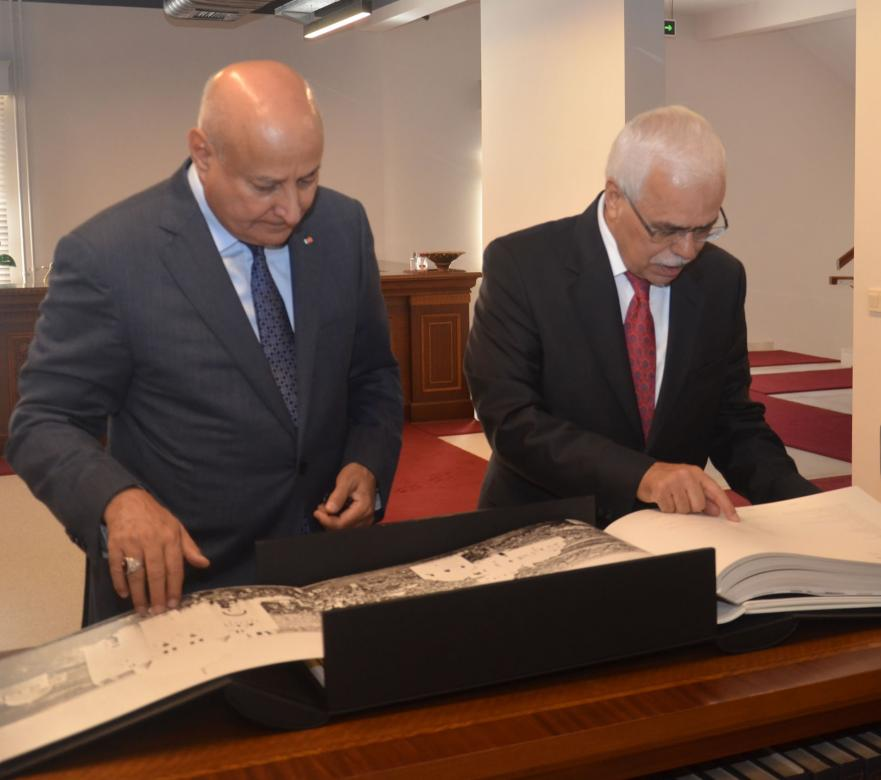 ISESCO Director General Dr. Abdelaziz al-Tuwaijri visited Prof. Dr. Halit Eren, Director General of IRCICA