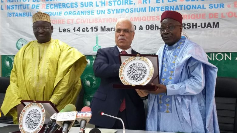 The President of Niger H.E. Issoufou Mahamadou received the Director General of IRCICA