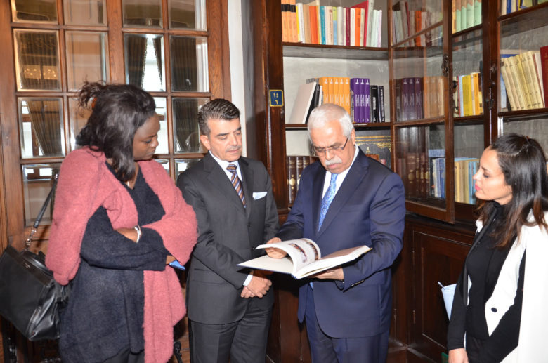 dr salim al malik director general of isesco visited ircica director general prof halit eren 1 780x517